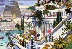 Abbildung: Hängende Gärten von Babylon